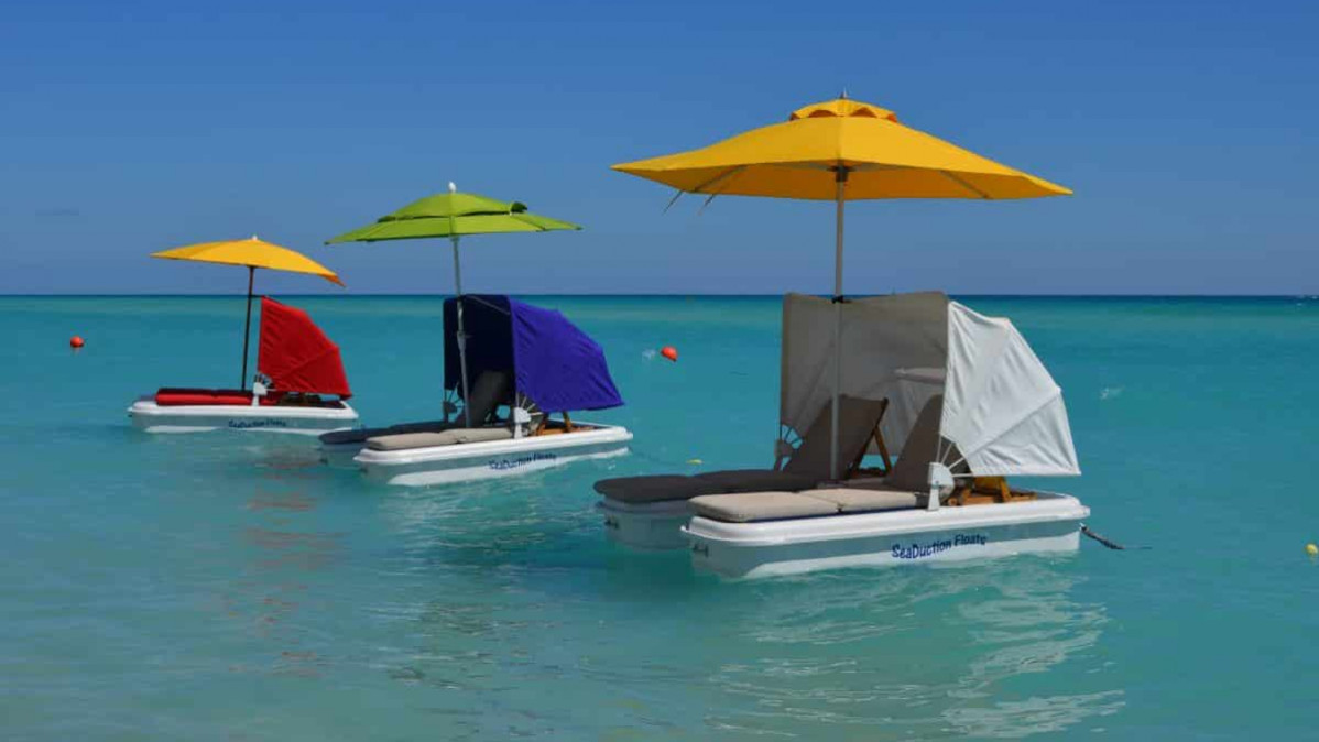 SeaDuction Floating Cabanas for Better Fun