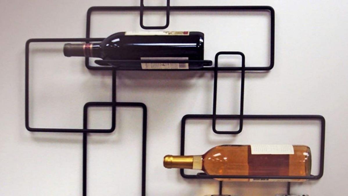 Contemporary Wine Rack