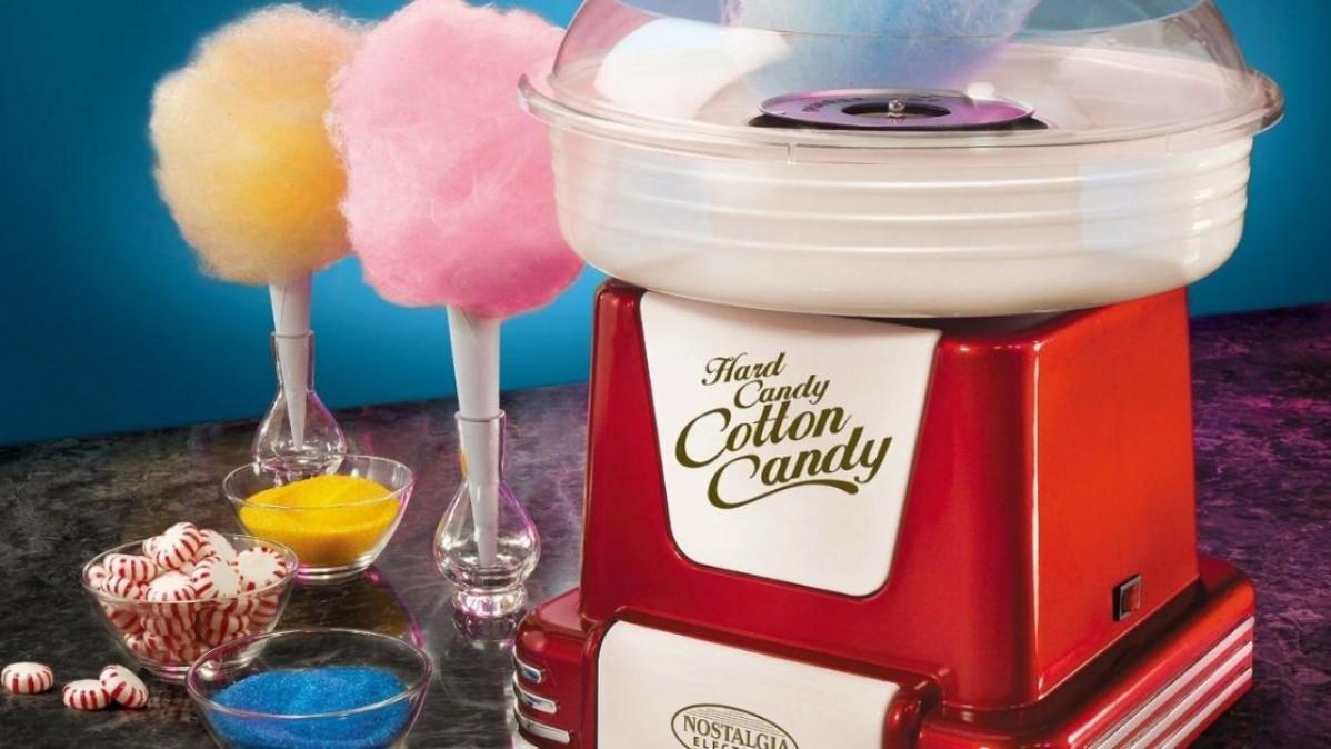 Retro Sugar Free Cotton Candy Maker