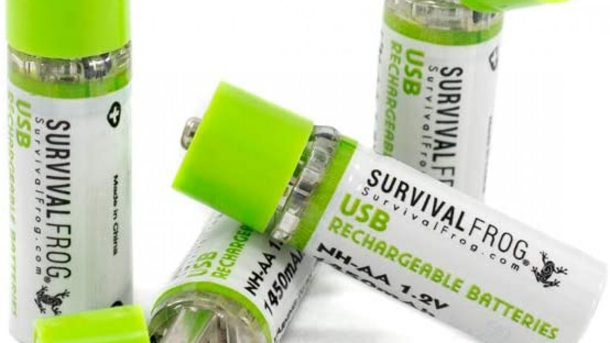 Rechargeable AA USB Batteries