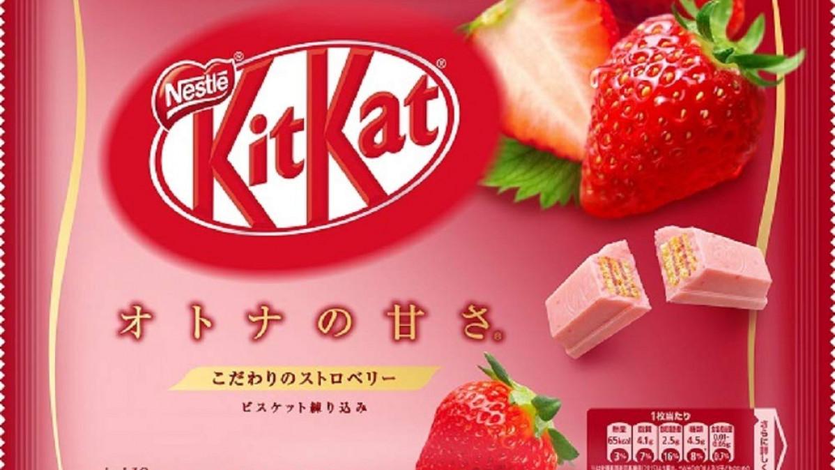 Strawberry Kit Kat Bar