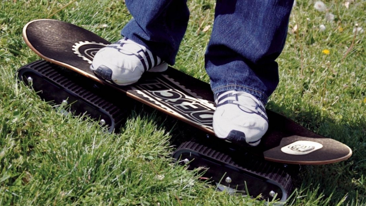 Awesome All Terrain Skateboard