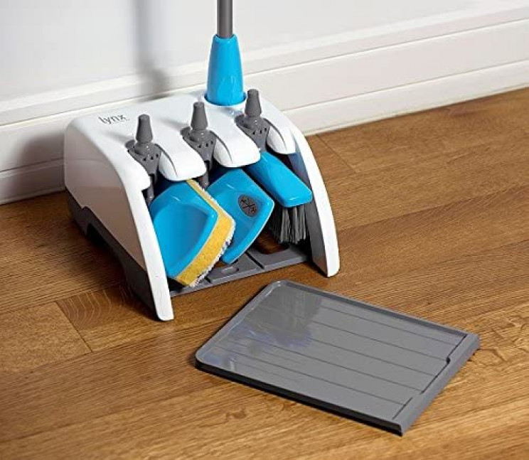 Clean Your House and Stay Organized with This 4-in-1 Cleaning Set