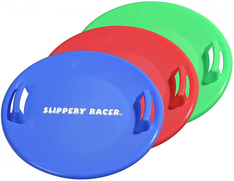 Slide into 2021 Smoothly with This Slippery Snow Sled