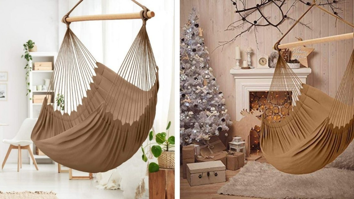 Reach Your Ultimate Comfort with This Cozy Hammock