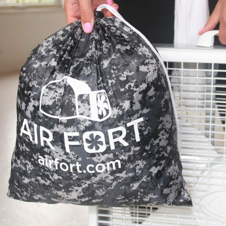 Build a Fort without Moving a Finger with Air Fort