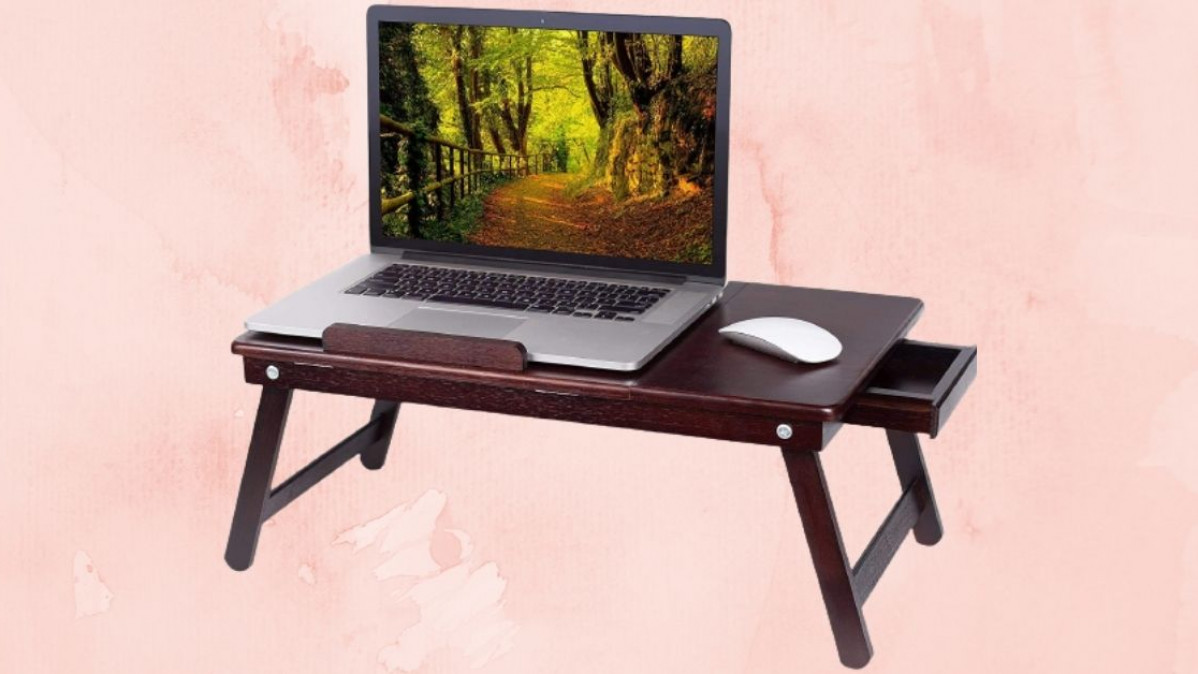 Work from Your Bed with This Convenient Lap Tray